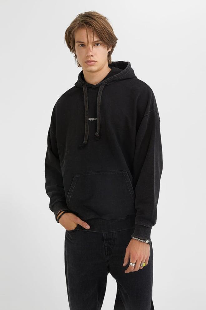 Tigha memories hoodie vintage black - Tigha