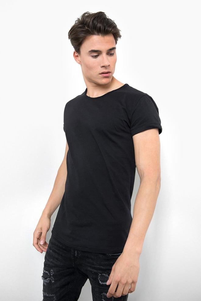 Tigha milo t-shirt black - Tigha