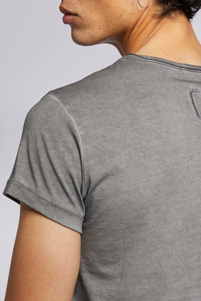 Tigha milo t-shirt vintage grey - Tigha