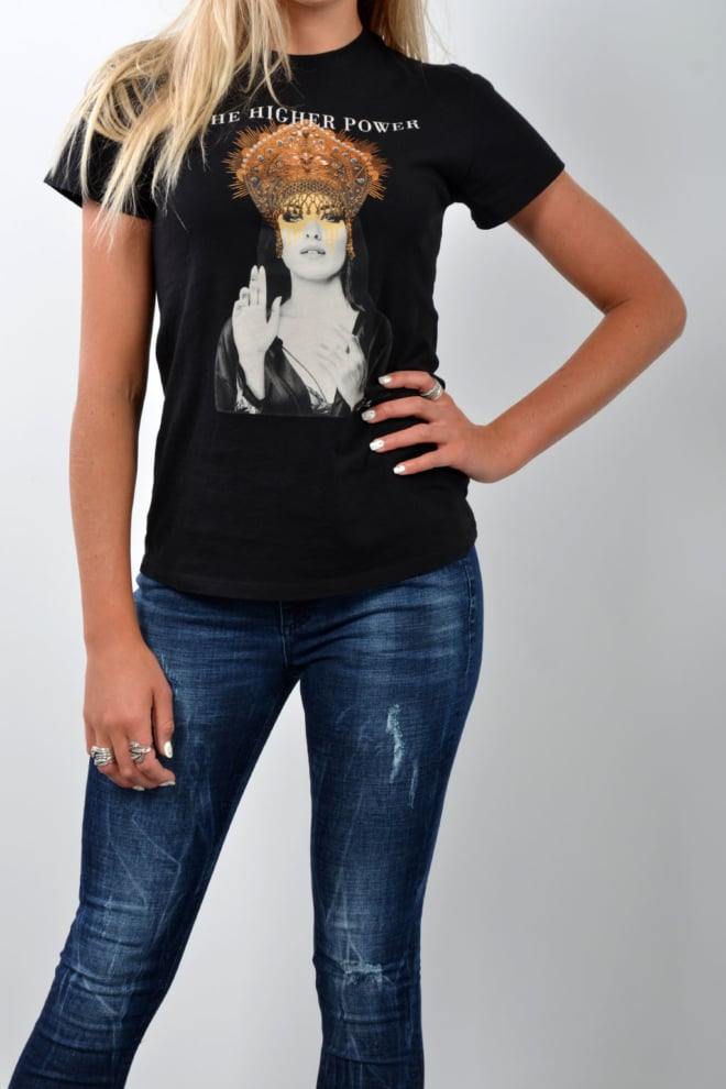 Tigha t-shirt zwart - Tigha