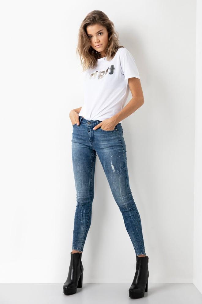 Tigha tee mirror wsn t-shirt wit - Tigha