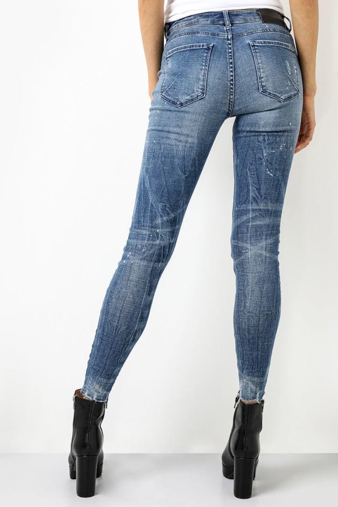 Tigha ania 9012 ripped hem jeans - Tigha