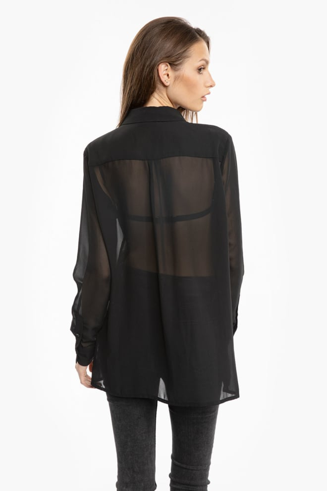 Tigha giana blouse zwart - Tigha