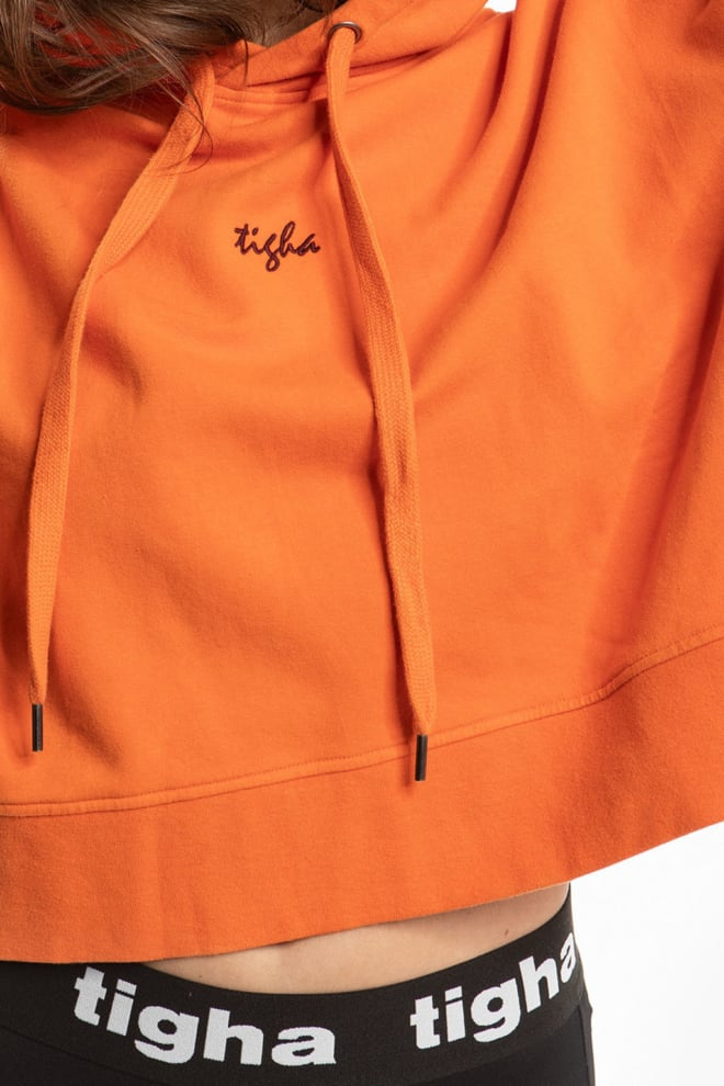 Tigha leonie sweater oranje - Tigha