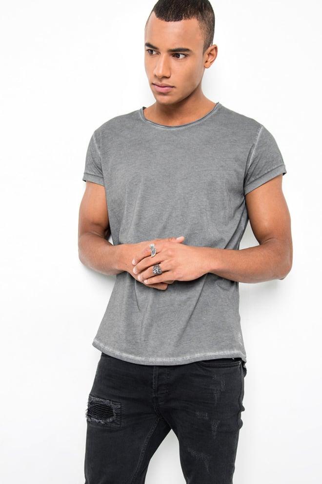 Tigha milo shirt vintage grey - Tigha