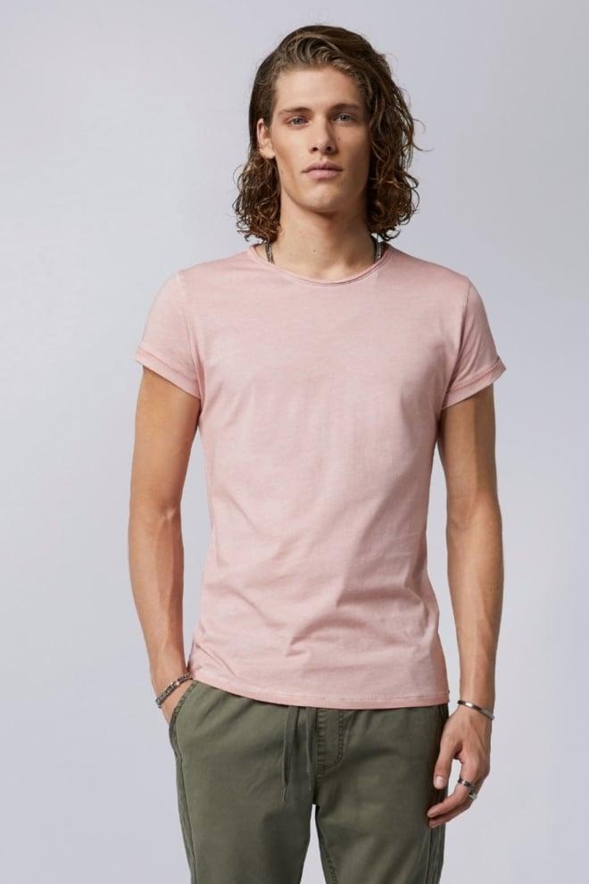 tigha milo heren t-shirt roze - Tigha