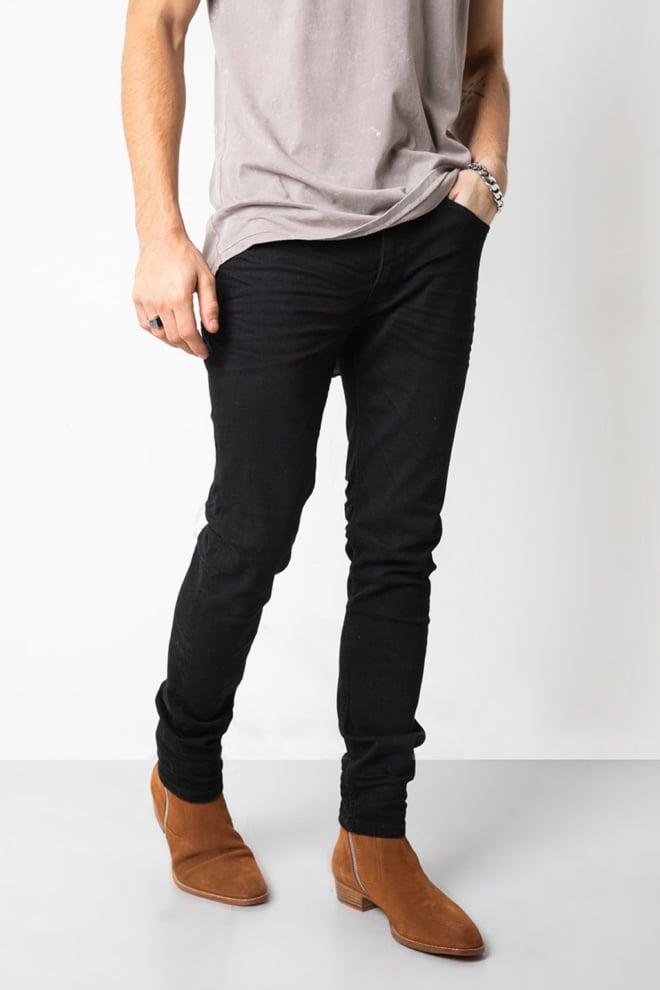 Tigha morty 7124 jeans rinse wash black - Tigha