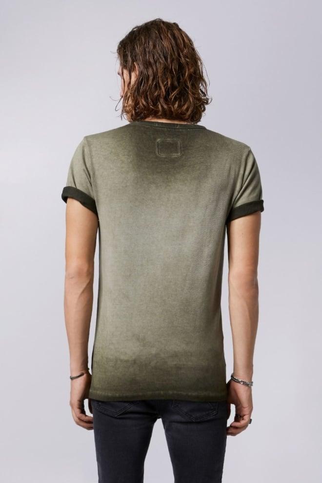 Tigha triple logo t-shirt groen - Tigha