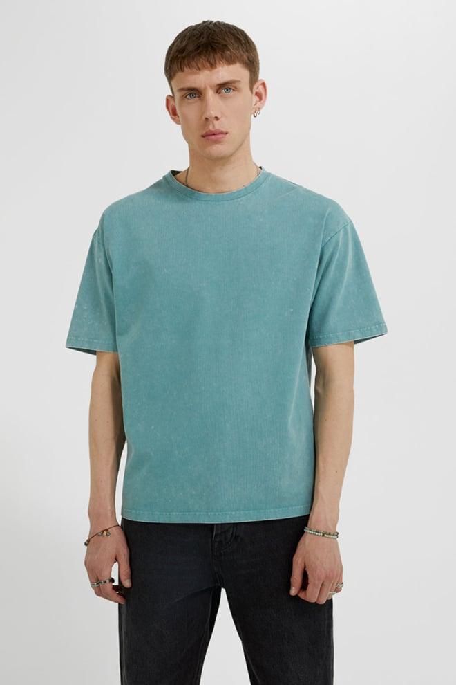 Tigha yoricko t-shirt turqoise - Tigha