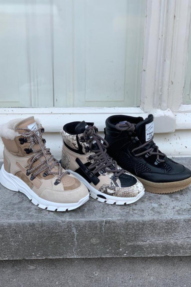 Toral sneakers hoog tl-12197c/sand - Toral
