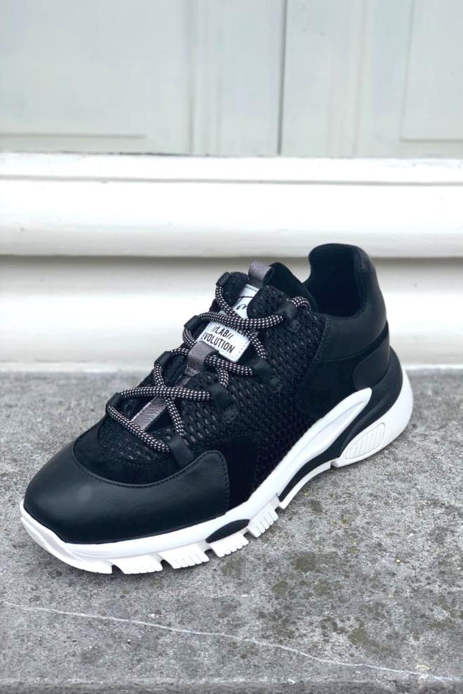 Toral sneakers tl-11101 bg zwart - Toral