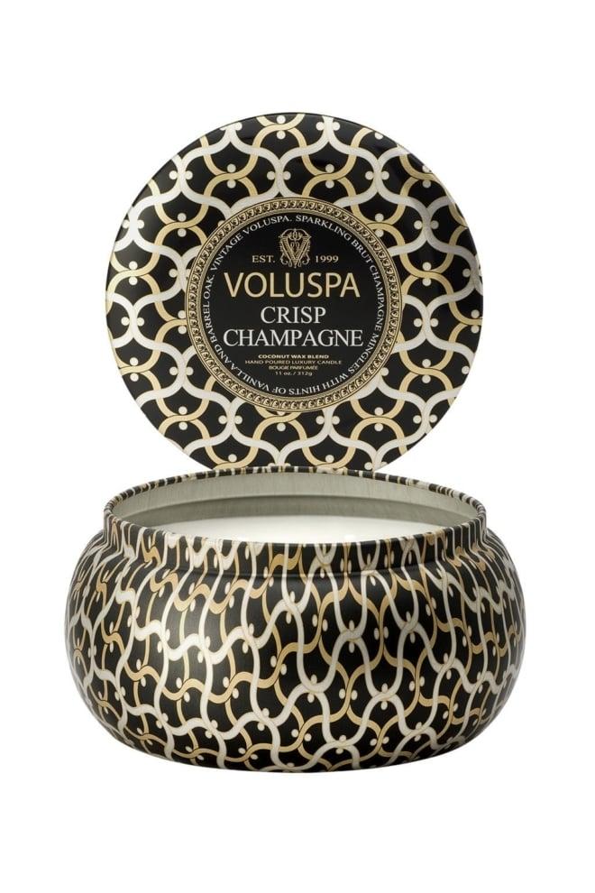 Voluspa crisp champagne maison metallo 2 wick candle - Voluspa