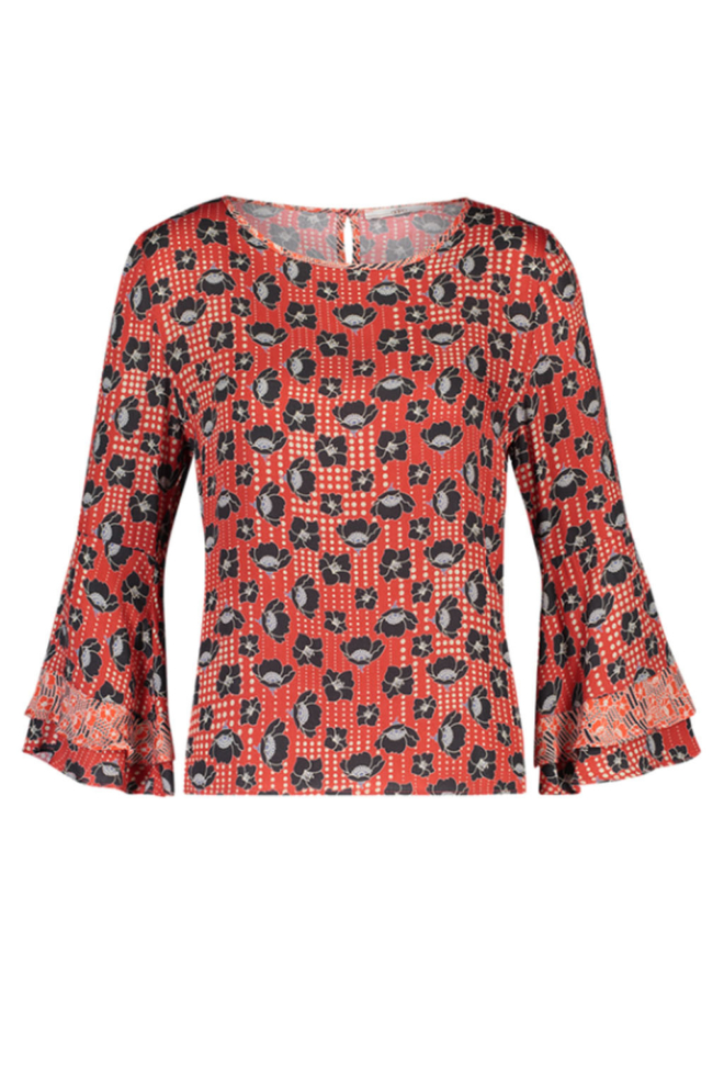 Aaiko marda vis blouse multi colour - Aaiko