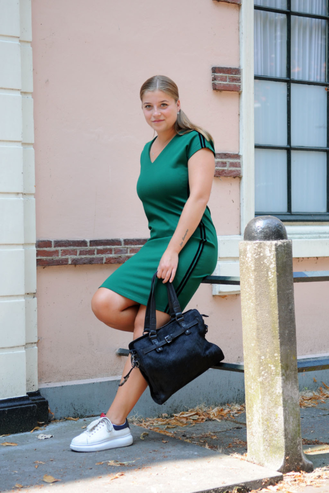 Aaiko tano velvet green dress - Aaiko