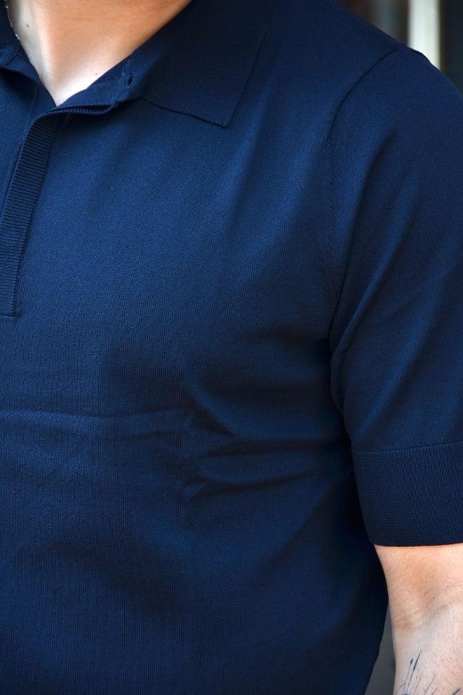 Aeden nick polo dark blue - Aeden
