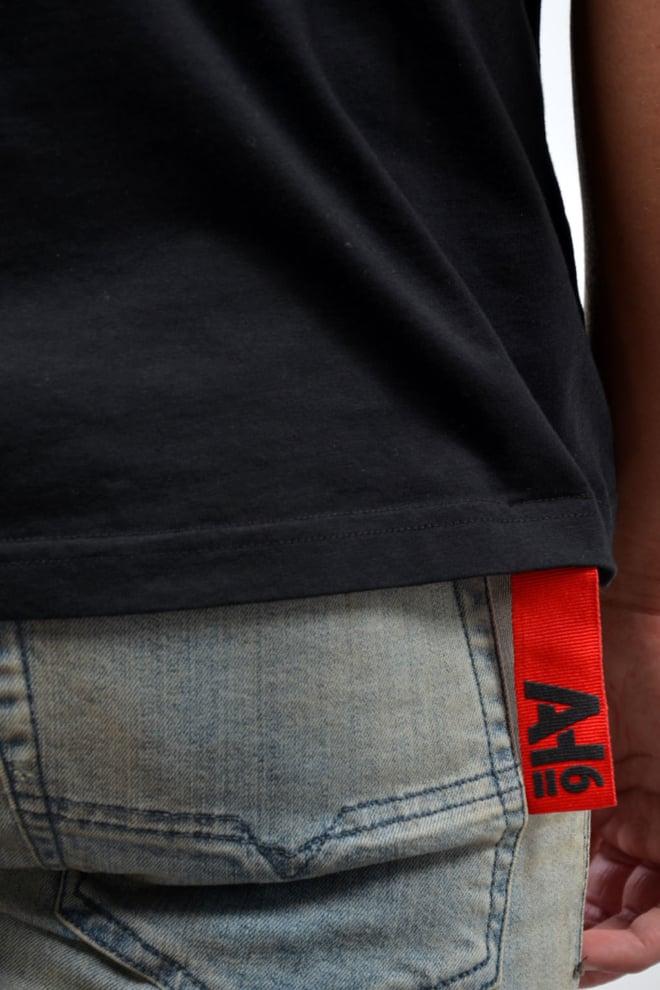 Ah6 t-shirt zwart - Ah6