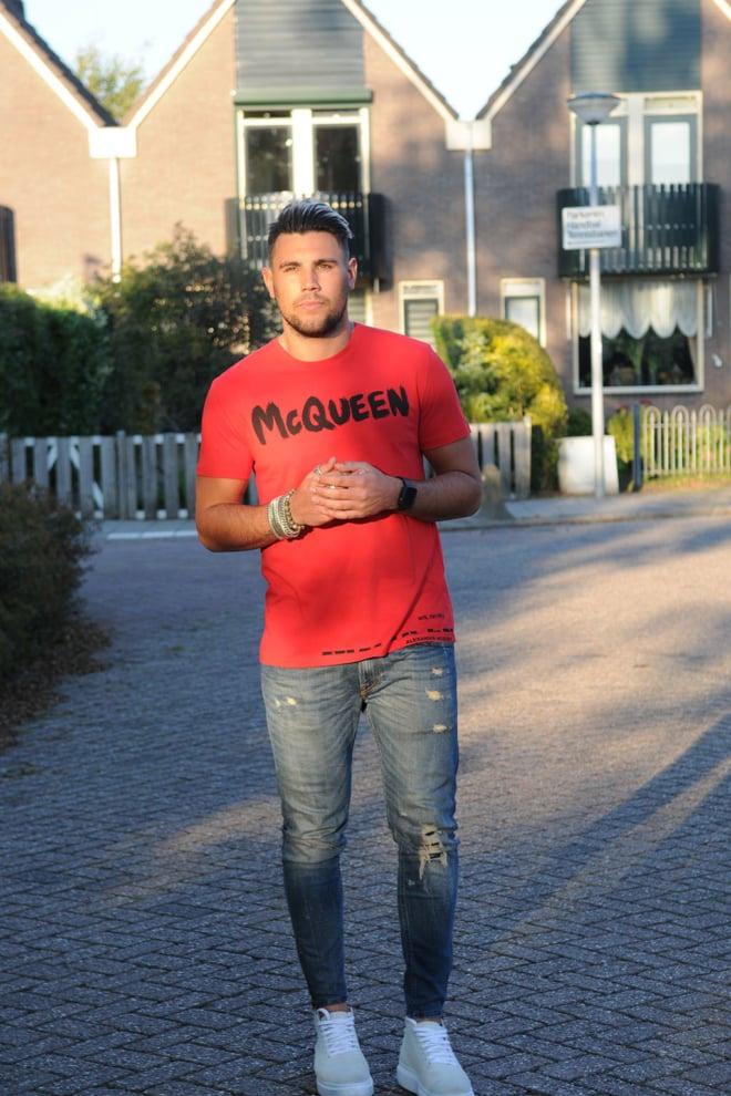 Alexander mcqueen t-shirt rood - Alexander Mcqueen