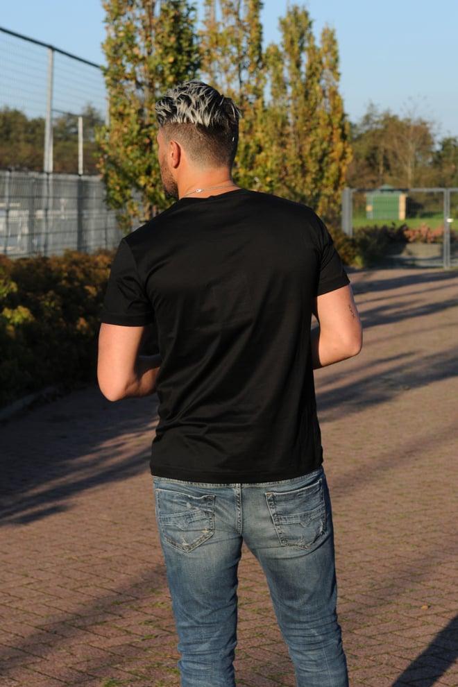 Alexander mcqueen logo shirt zwart - Alexander Mcqueen