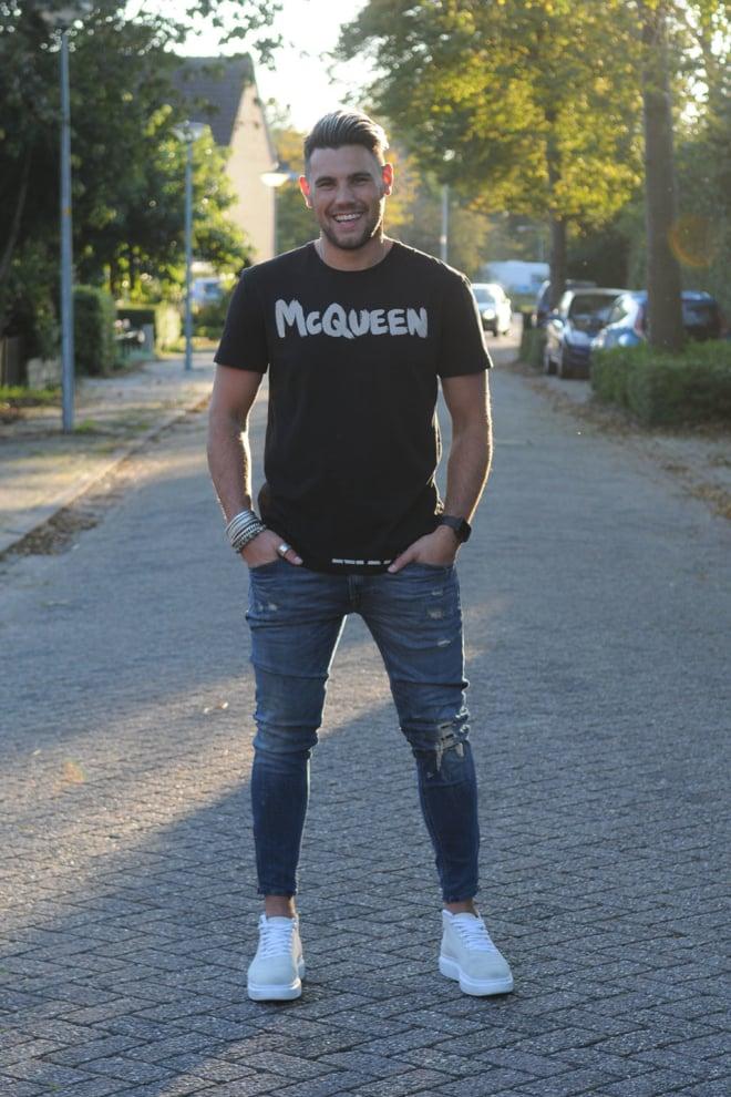 Alexander mcqueen t-shirt zwart - Alexander Mcqueen