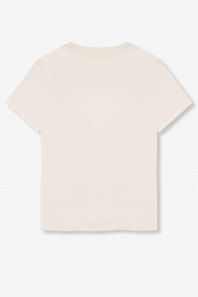 Alix the label bull t-shirt soft white - Alix The Label