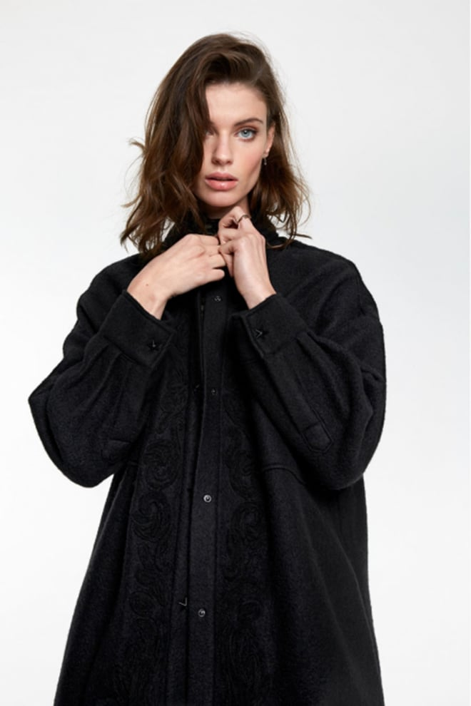 Alix the label embroidered wool jacket - Alix The Label