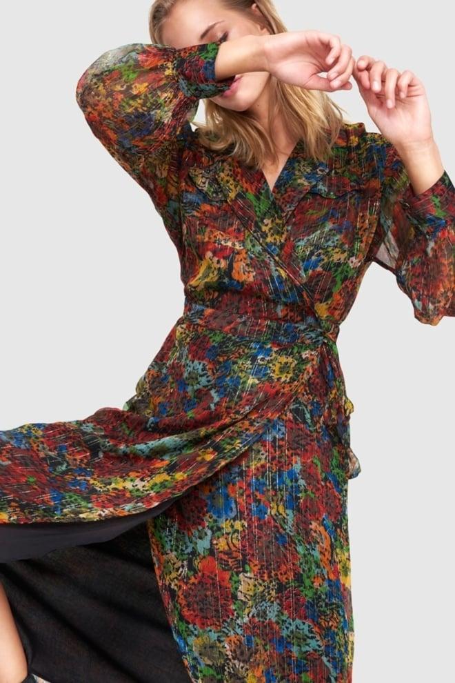 Alix the label lange bloemen jurk - Alix The Label