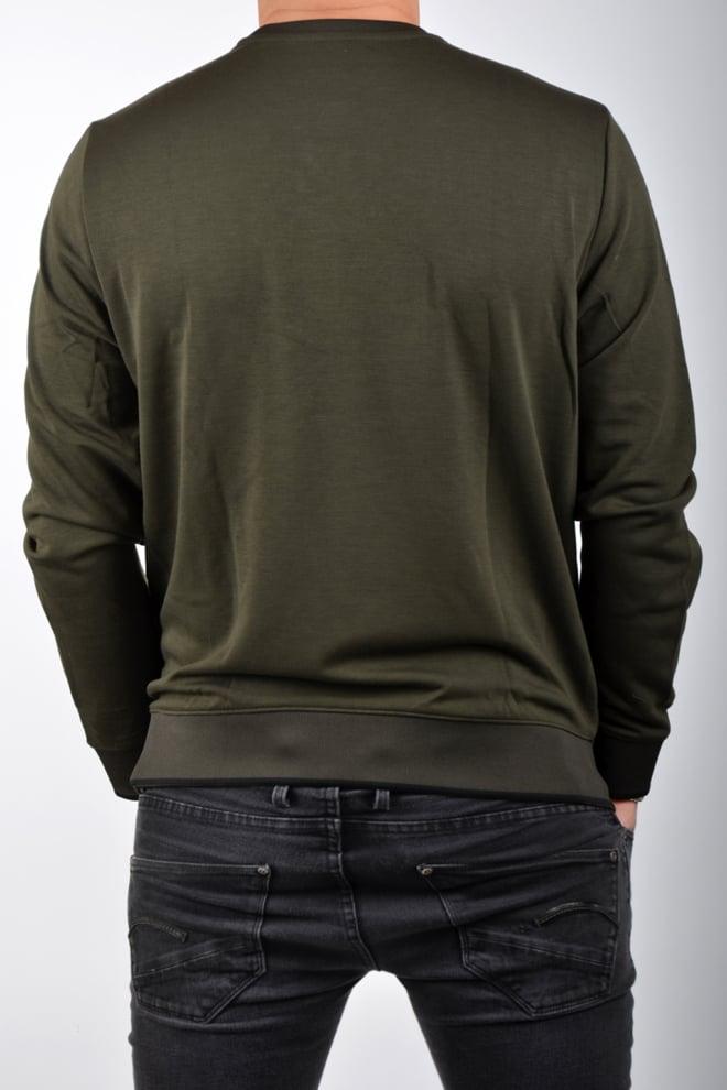 Armani man jersey felpa green - Armani