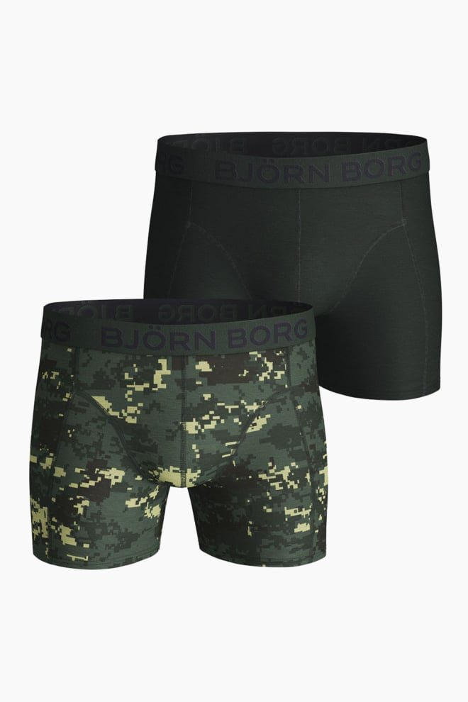 Bjorn borg sammy graphic shorts groen 2-pack - Björn Borg