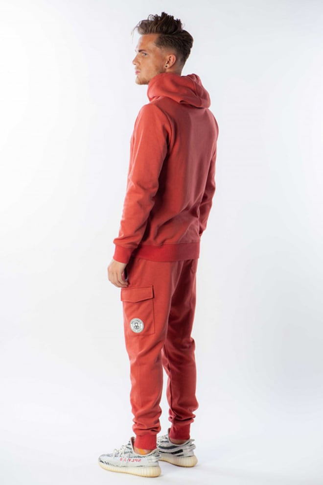 Black bananas anorak hoody salmon - Black Bananas