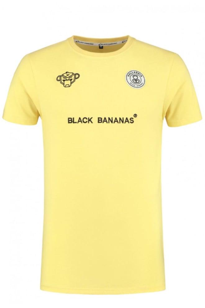 Black bananas f.c. basic tee yellow - Black Bananas