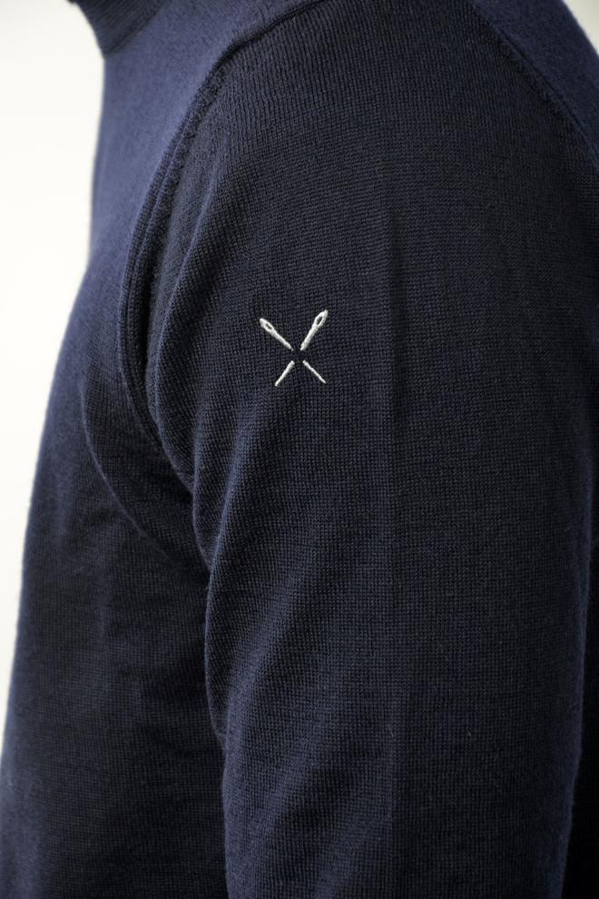 Blunt needle modena koltrui navy - Blunt Needle