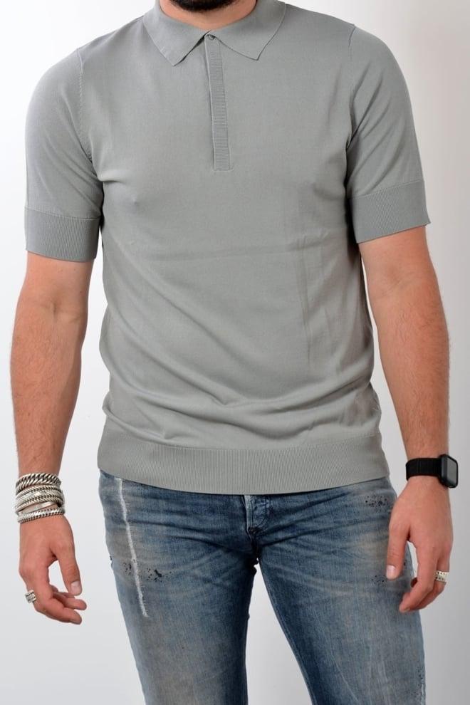 Blunt needle polo shirt grey - Blunt Needle