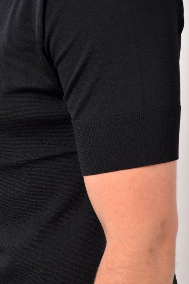 Blunt needle polo shirt black - Blunt Needle