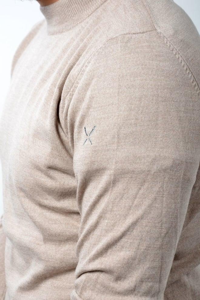 Blunt needle torino turtleneck sand - Blunt Needle