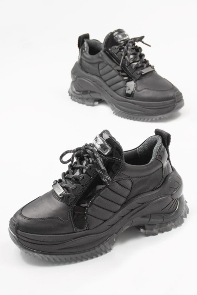 Bronx shoes chainy black - Bronx Shoes