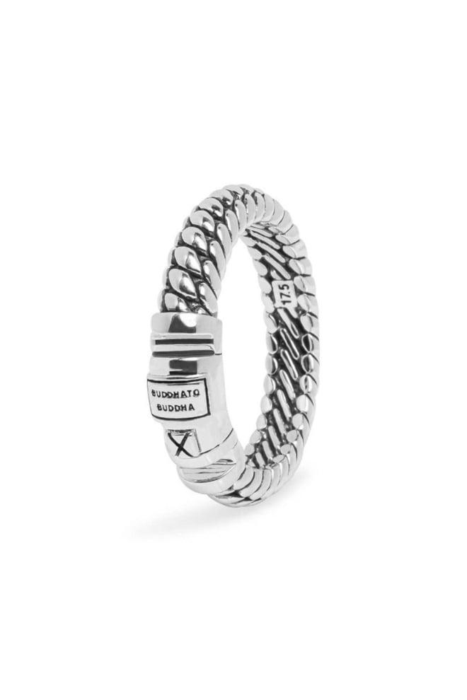 Buddha to buddha ben xs lock ring silver - Buddha To Buddha