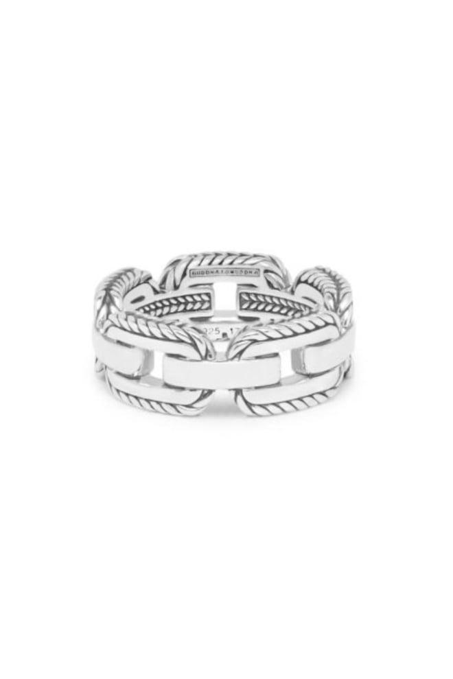 Buddha to buddha barbara link ring zilver - Buddha To Buddha
