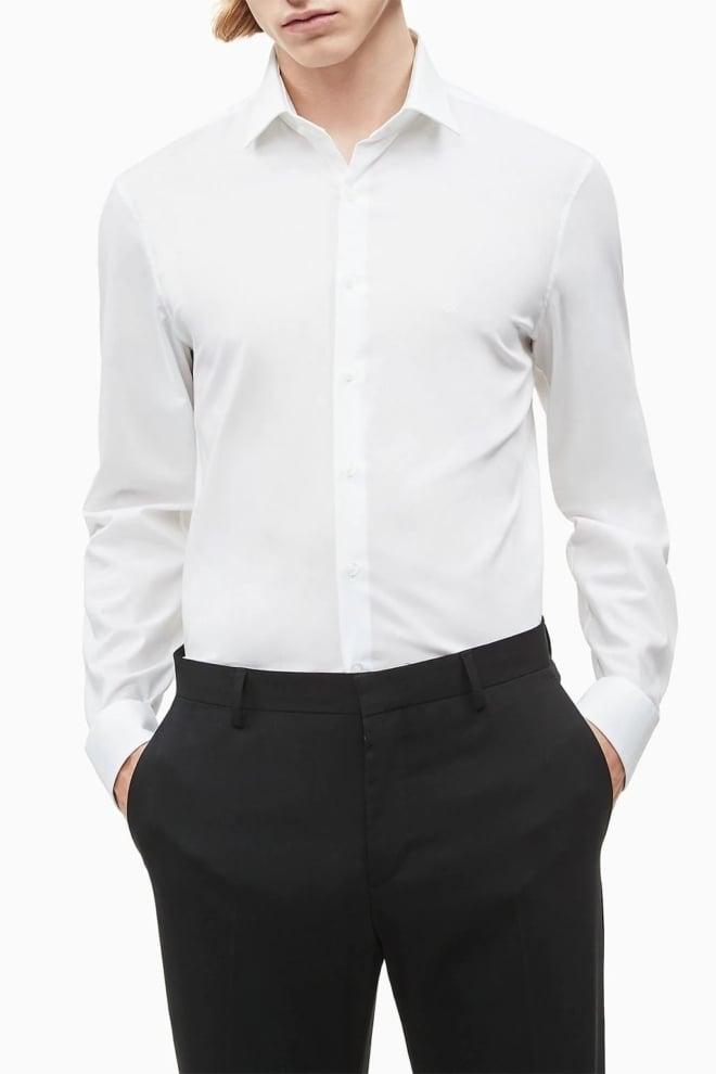 Calvin klein poplin overhemd - Calvin Klein