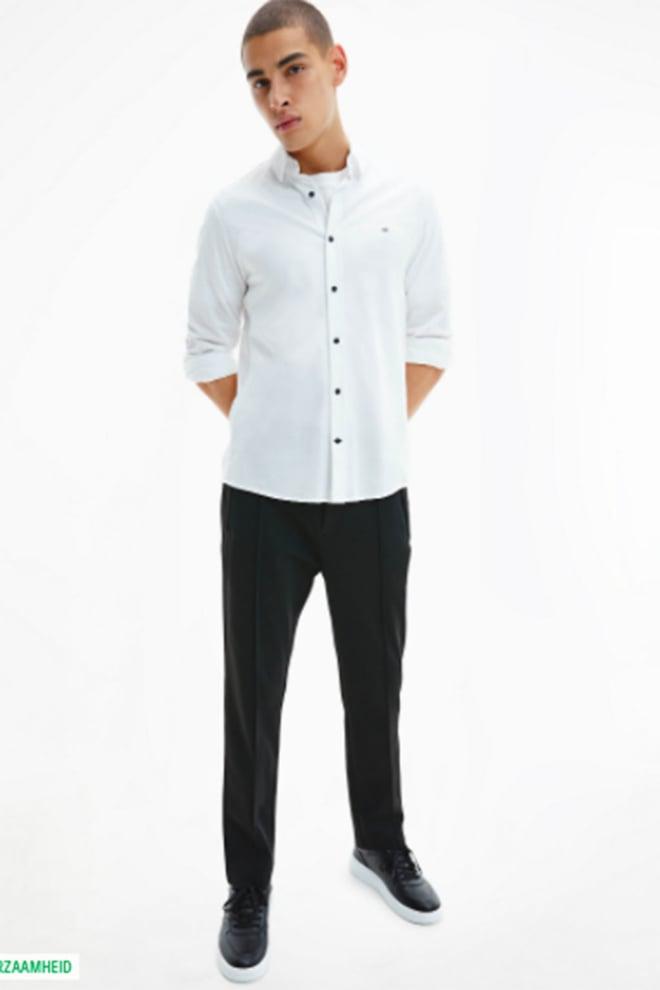 Calvin klein overhemd wit - Calvin Klein