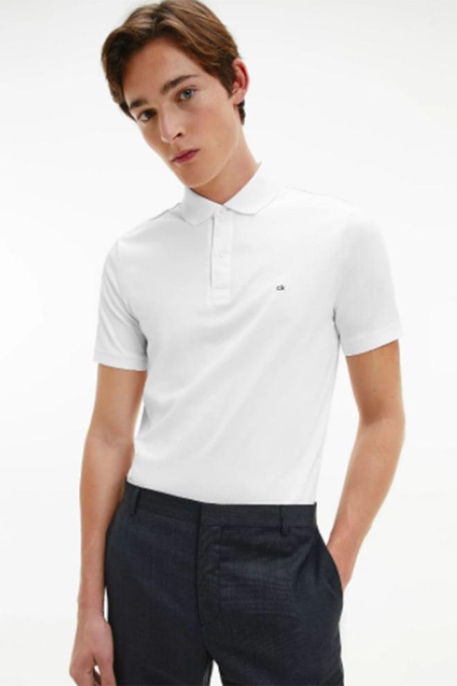 Calvin klein polo wit - Calvin Klein
