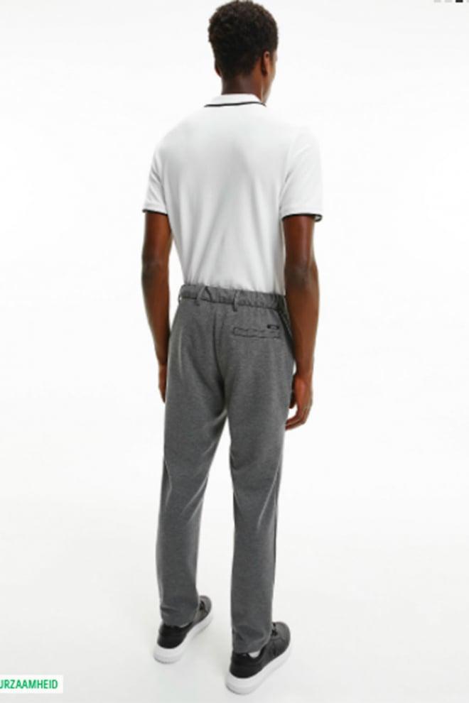 Calvin klein tipping t-shirt wit - Calvin Klein