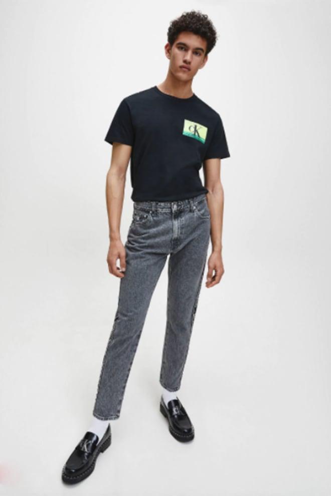 Calvin klein t-shirt biologisch katoen black - Calvin Klein Jeans