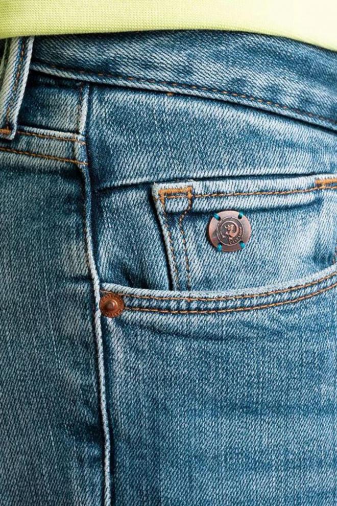 Cast iron riser slim fit jeans blauw - Cast Iron