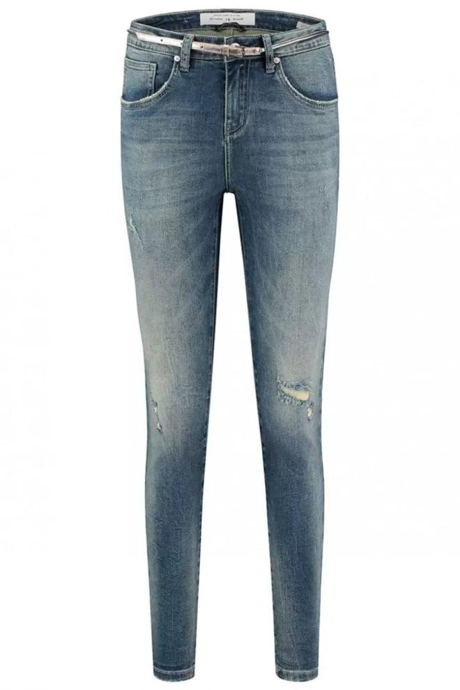 Circle of trust cooper blauwe skinny boyfriend jeans - Circle Of Trust