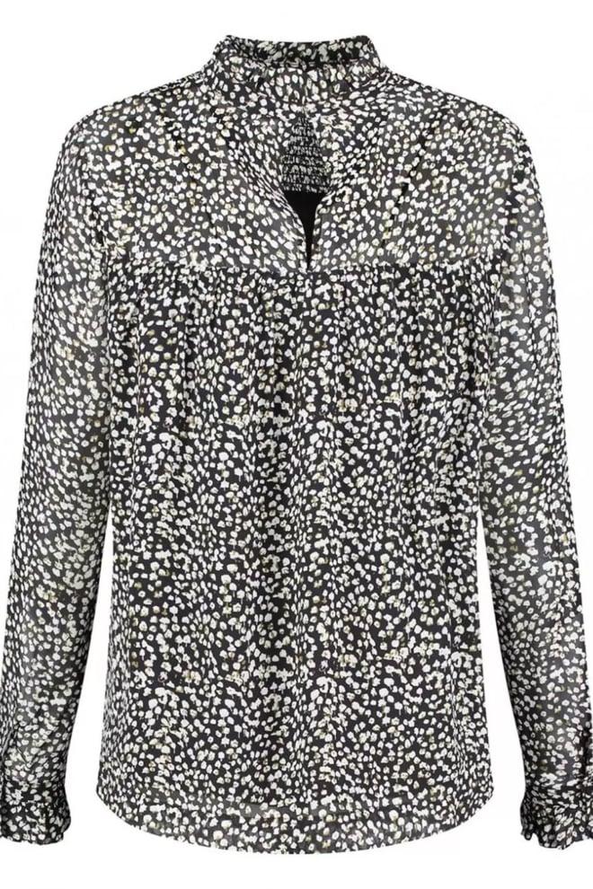 Circle of trust jossie zwarte chiffon blouse - Circle Of Trust