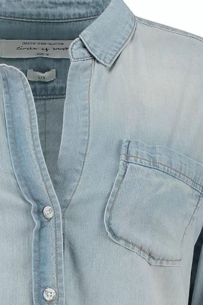Circle of trust liv denim blouse blue - Circle Of Trust