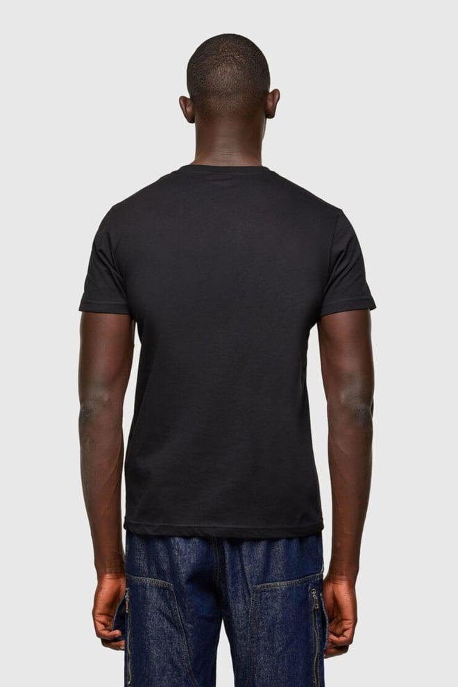 Diesel t-diegos-a5 t-shirt zwart - Diesel