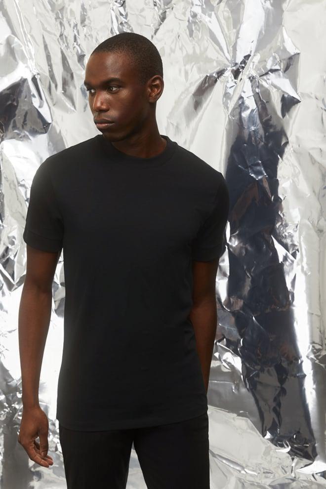Drykorn anton jersey t-shirt zwart - Drykorn