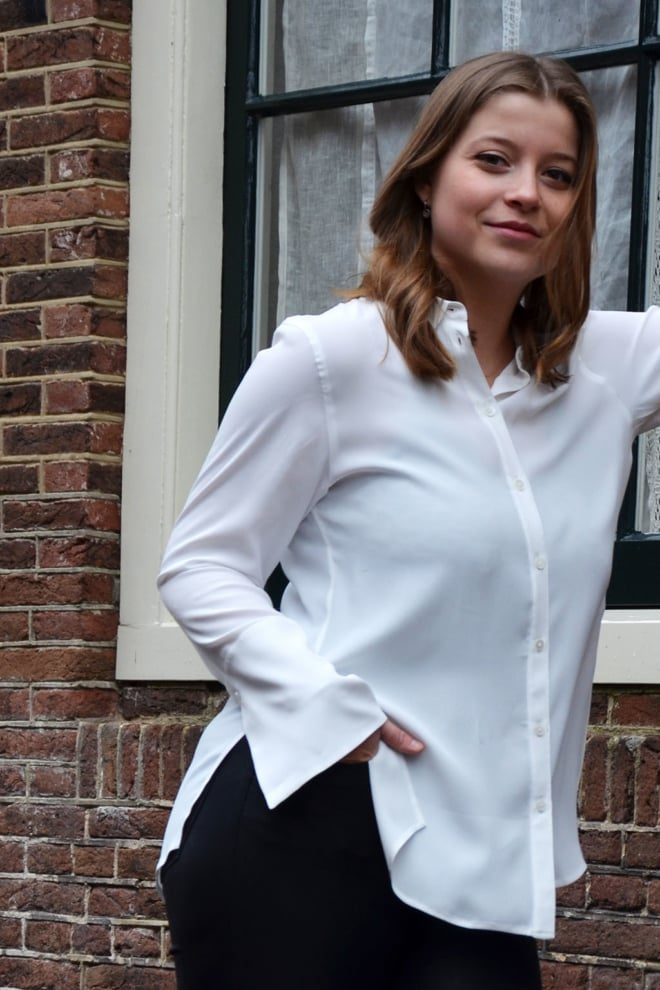 Drykorn charlee blouse wit - Drykorn