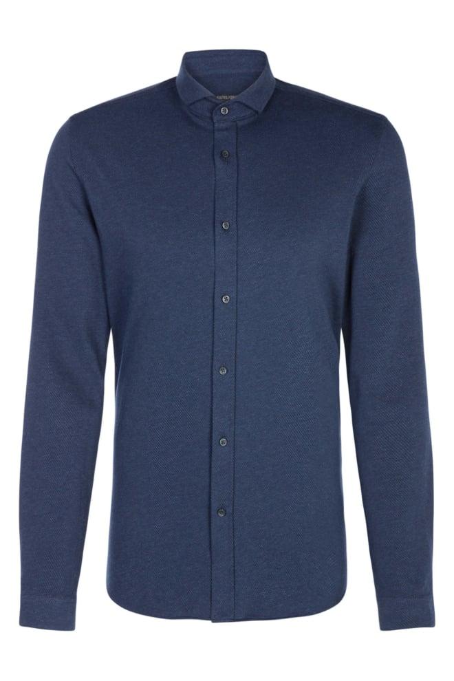 Drykorn solo overhemd blauw - Drykorn